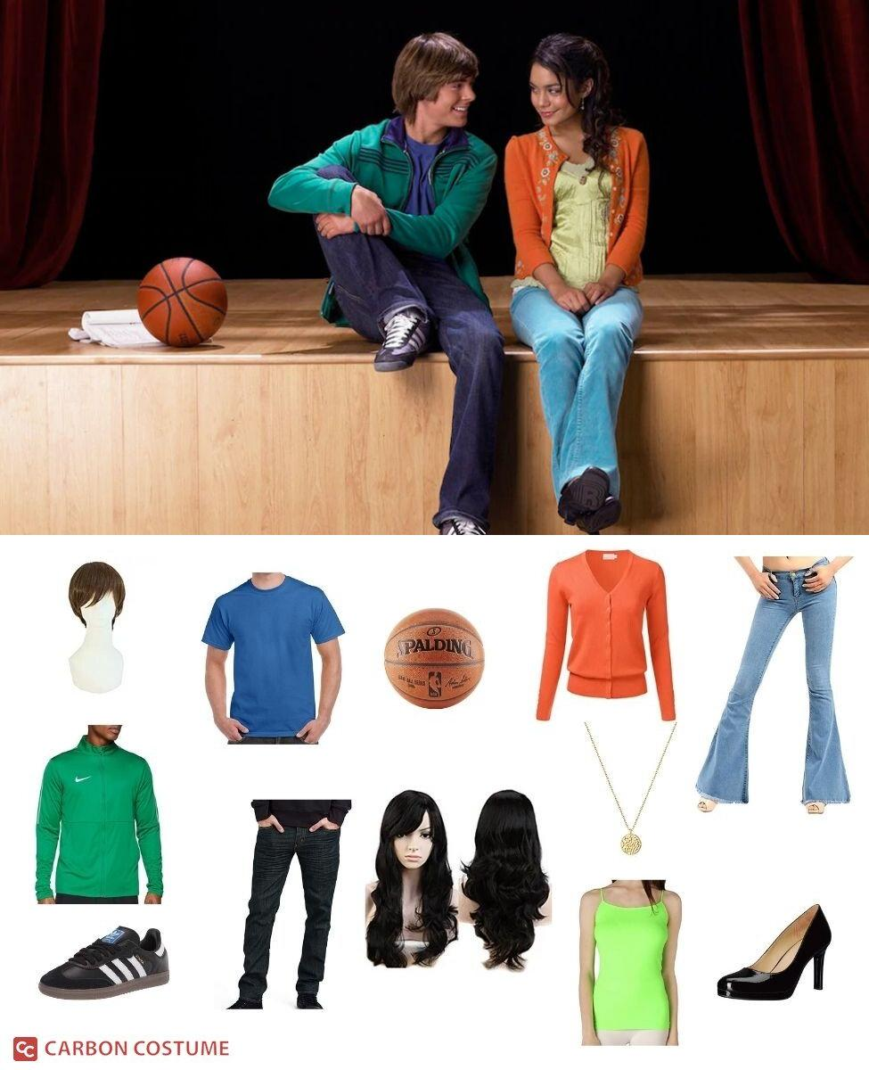 Troy and Gabriella from High School Musical Cosplay Guide