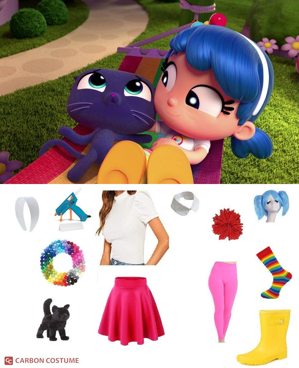 True from True and the Rainbow Kingdom Cosplay Guide