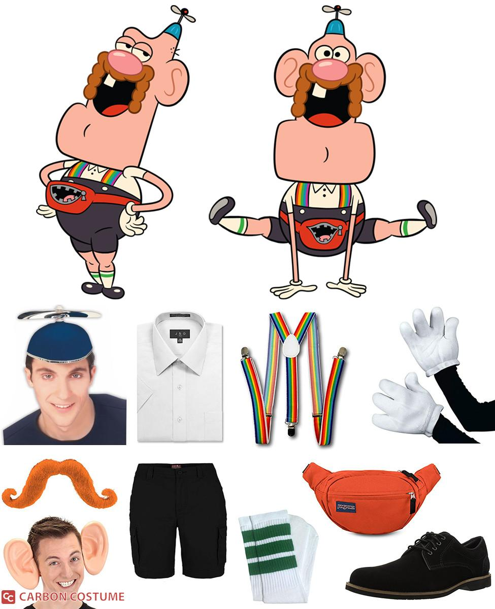 Uncle Grandpa Cosplay Guide