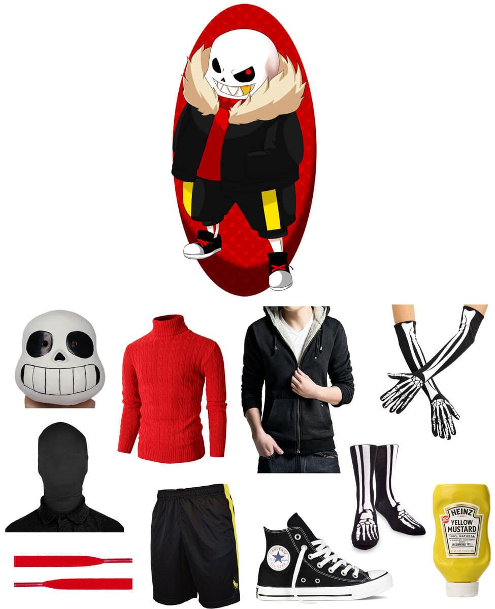 Underfell Sans Cosplay Guide