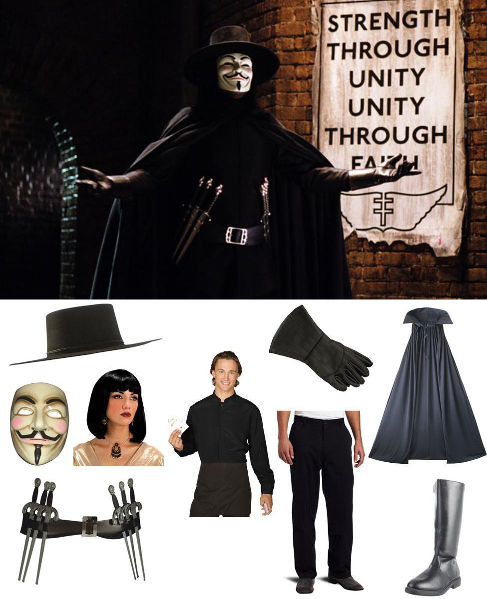 V for Vendetta Cosplay Guide