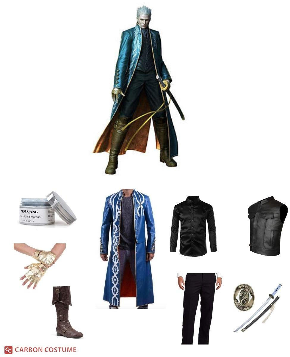 Vergil from Devil May Cry 3 Cosplay Guide