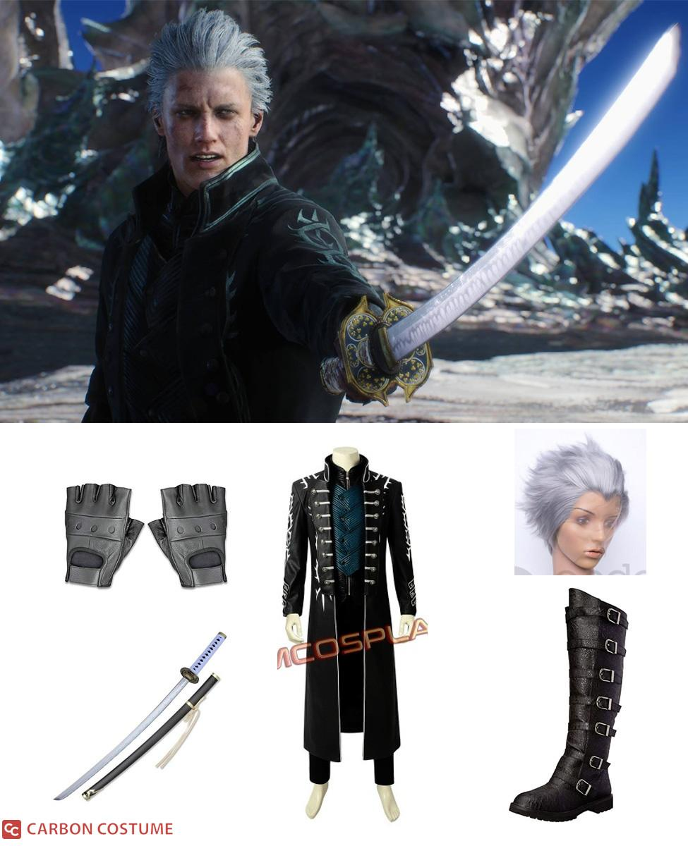 Vergil from Devil May Cry 5 Cosplay Guide