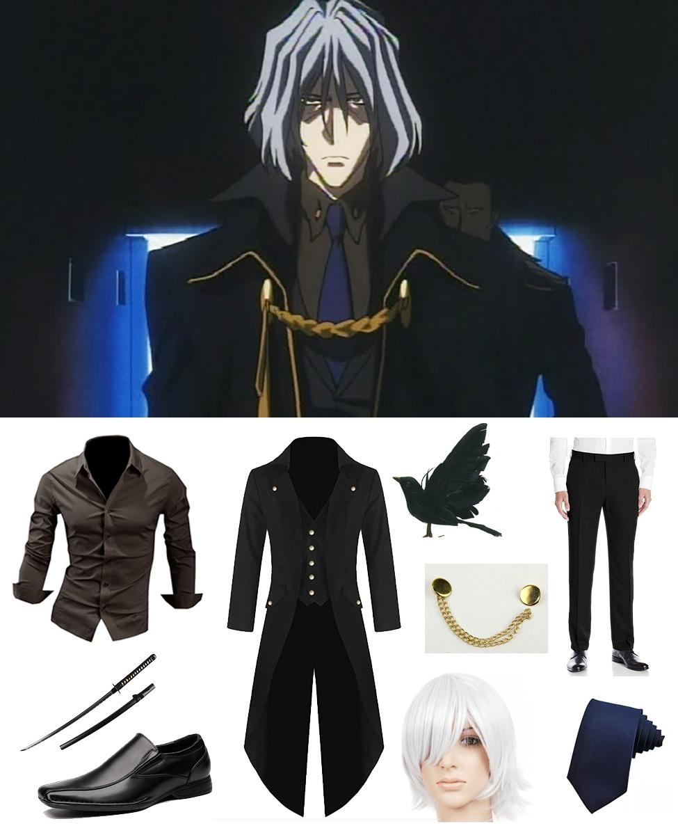Vicious from Cowboy Bebop Cosplay Guide