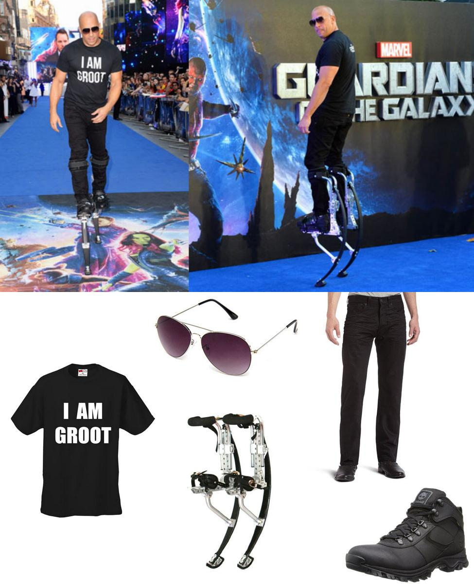 Vin Diesel at the Guardians Premiere Cosplay Guide