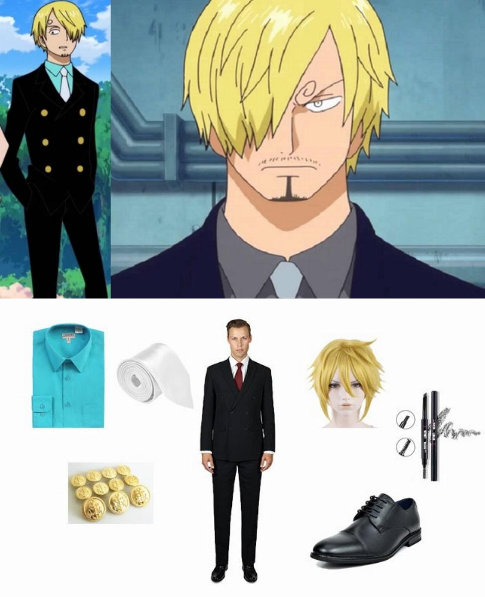 Vinsmoke Sanji from One Piece Cosplay Guide