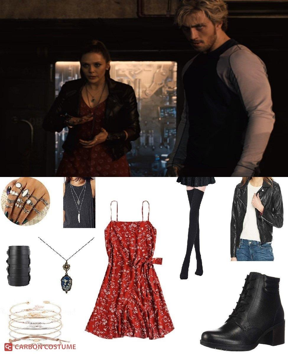 Wanda Maximoff from Avengers: Age of Ultron Cosplay Guide