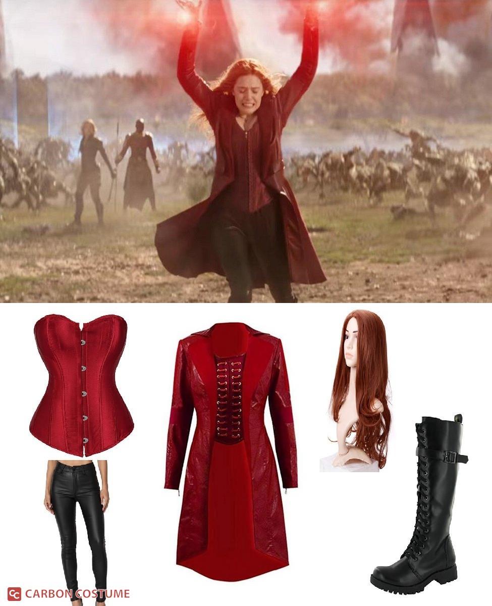 Wanda Maximoff in Avengers: Infinity War Cosplay Guide