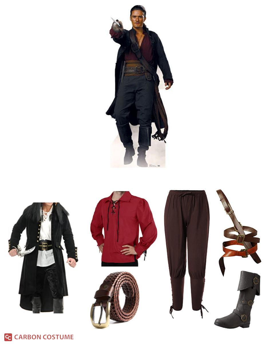 Will Turner from Pirates of the Caribbean Cosplay Guide