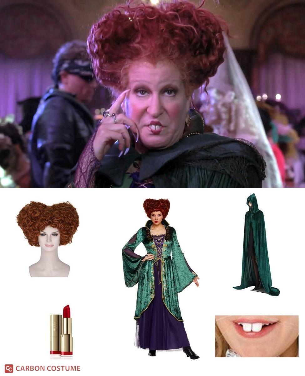 Winifred Sanderson from Hocus Pocus Cosplay Guide