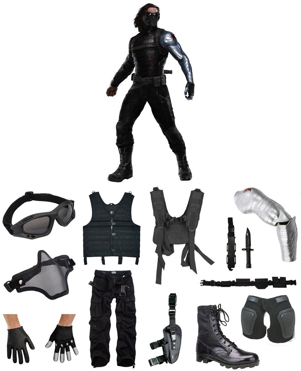 Winter Soldier Cosplay Guide