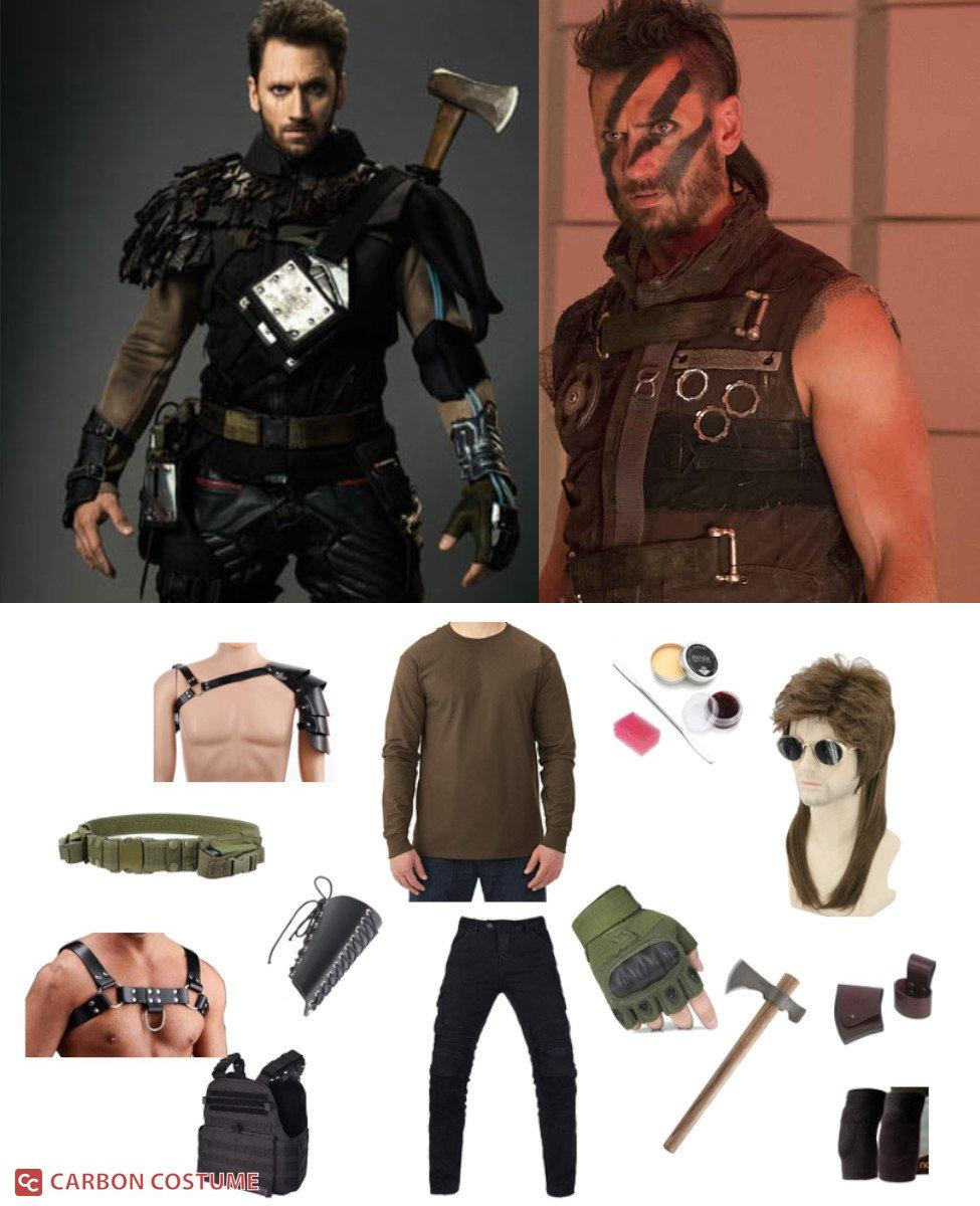 Wolf from Future Man Cosplay Guide