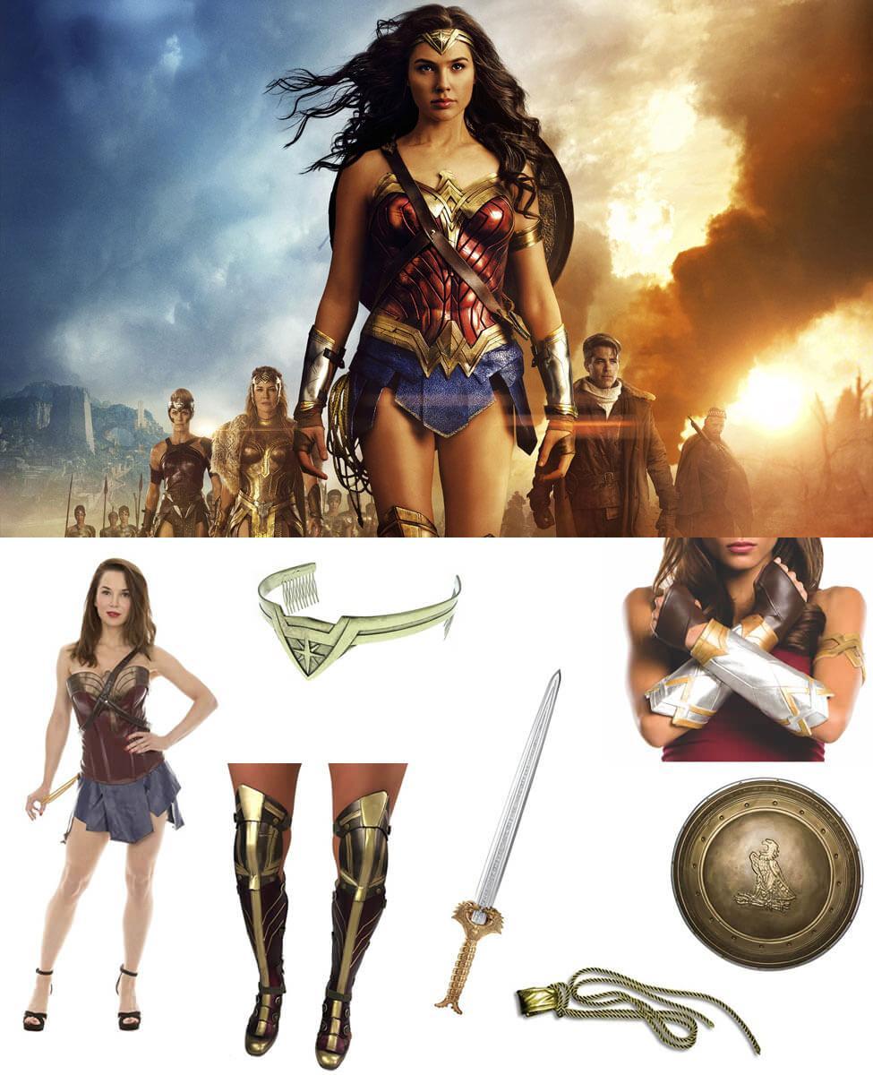 Wonder Woman (2017) Cosplay Guide