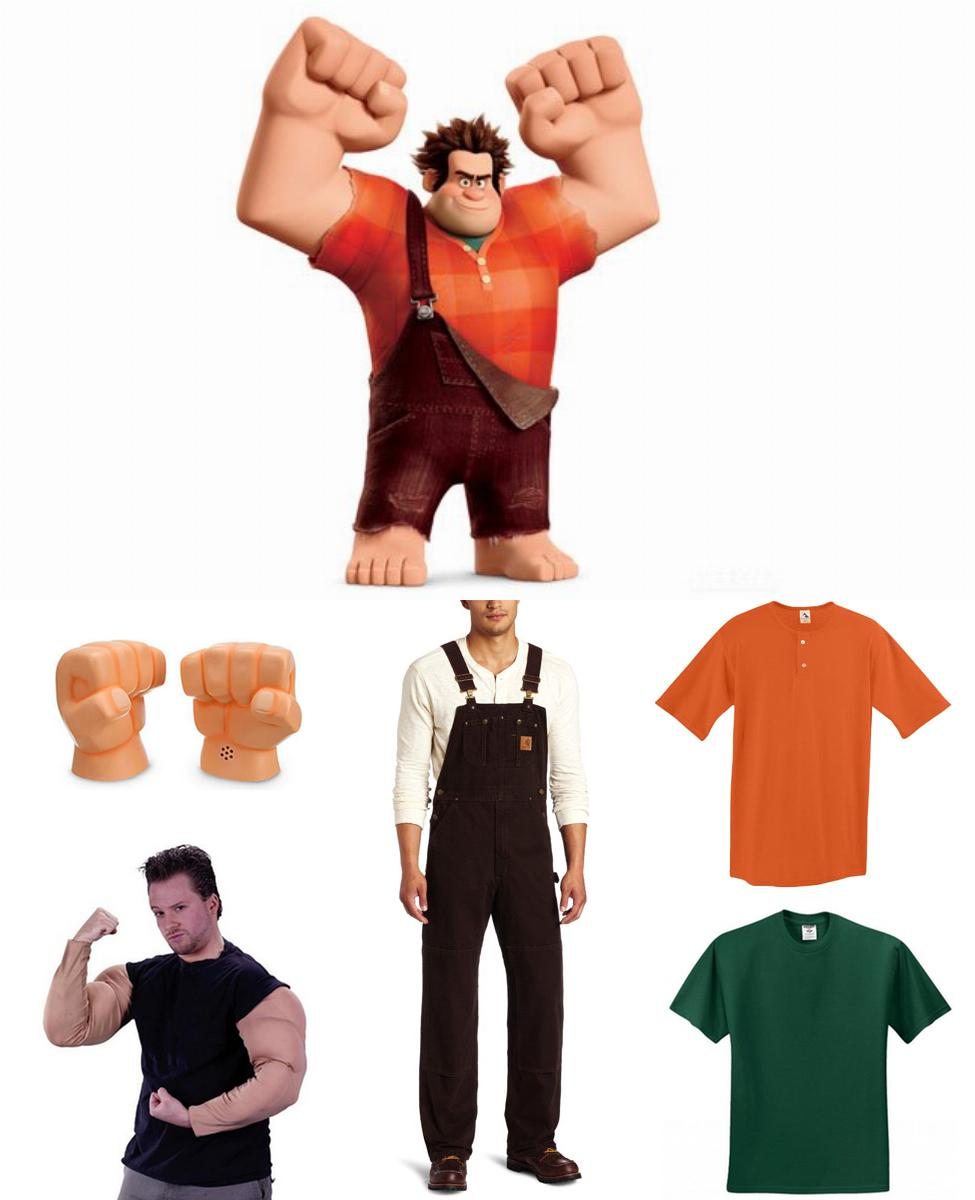 Wreck-It Ralph Cosplay Guide