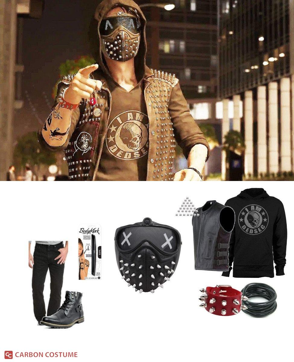 Wrench from Watch Dogs 2 Cosplay Guide