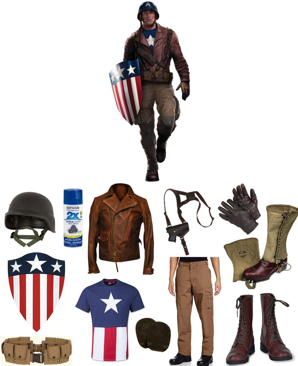 WWII Captain America Cosplay Guide