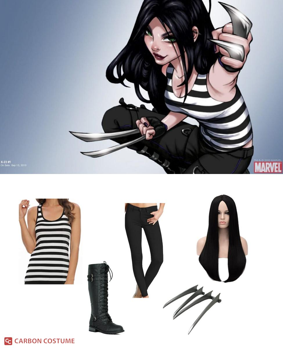 X-23 from the X-Men Comics Cosplay Guide