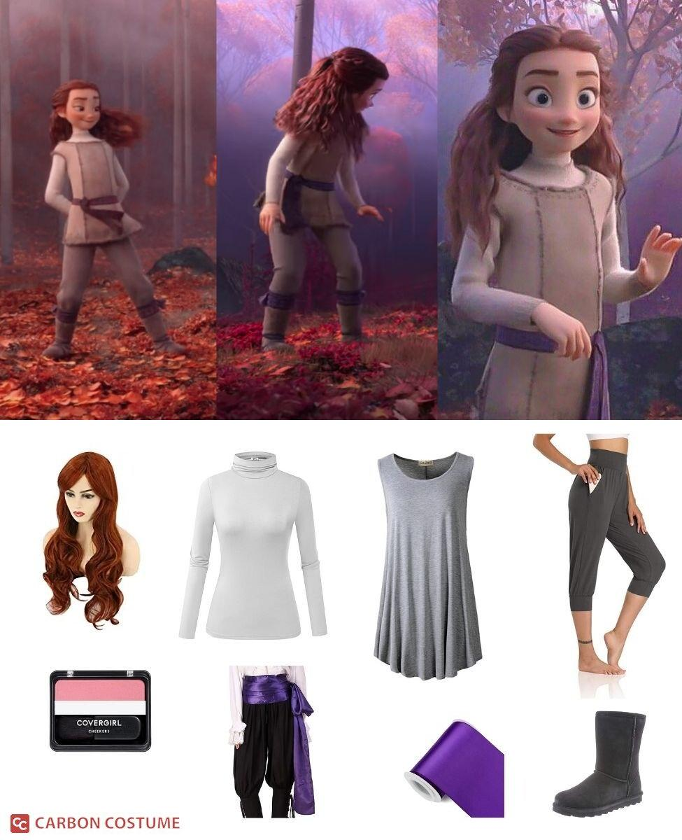Young Induna from Frozen 2 Cosplay Guide