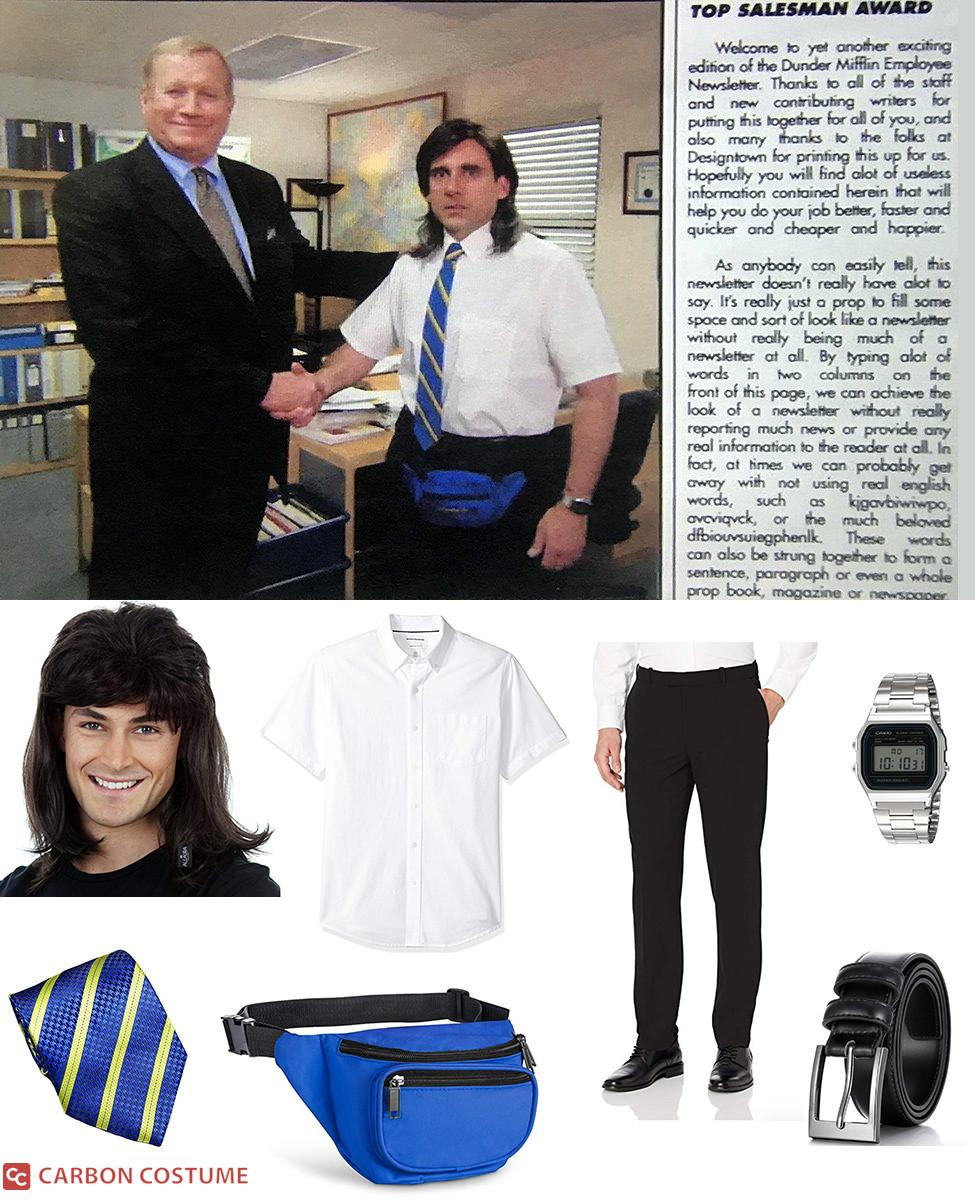 Young Michael Scott Shaking Hands from The Office Cosplay Guide