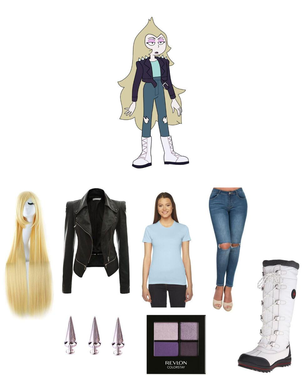 Young Vidalia from Steven Universe Cosplay Guide