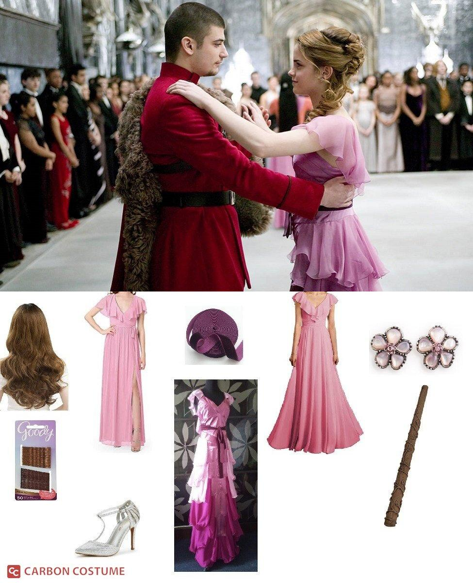 Yule Ball Hermione Granger from Harry Potter and Goblet of Fire Cosplay Guide