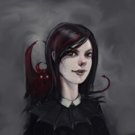 Hester from the School for Good and Evil