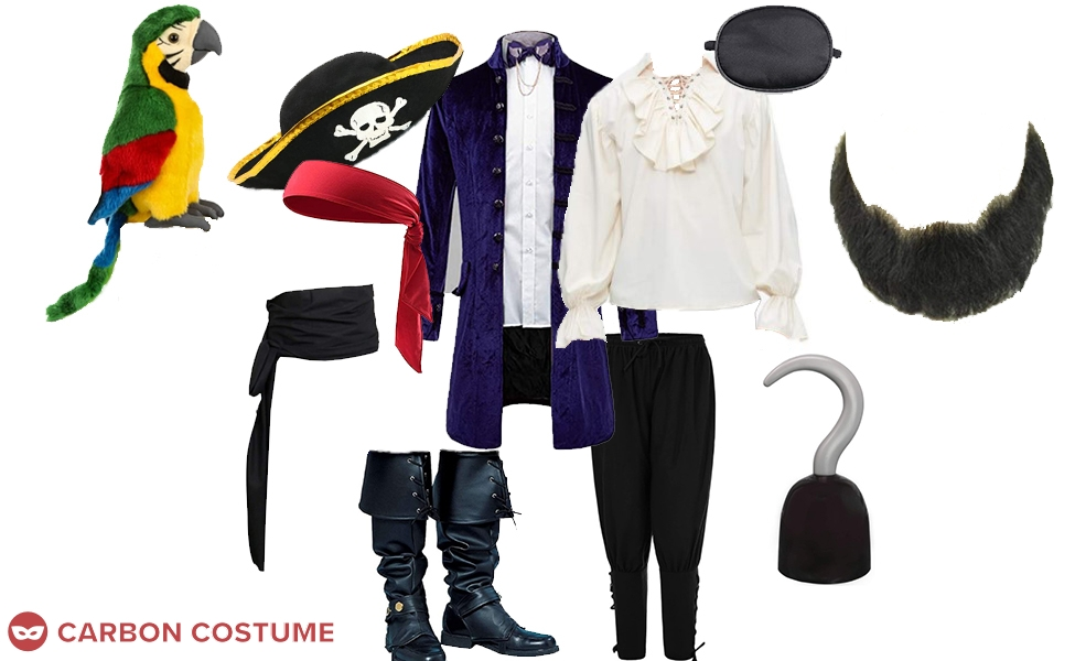 Patchy the Pirate from SpongeBob SquarePants Costume