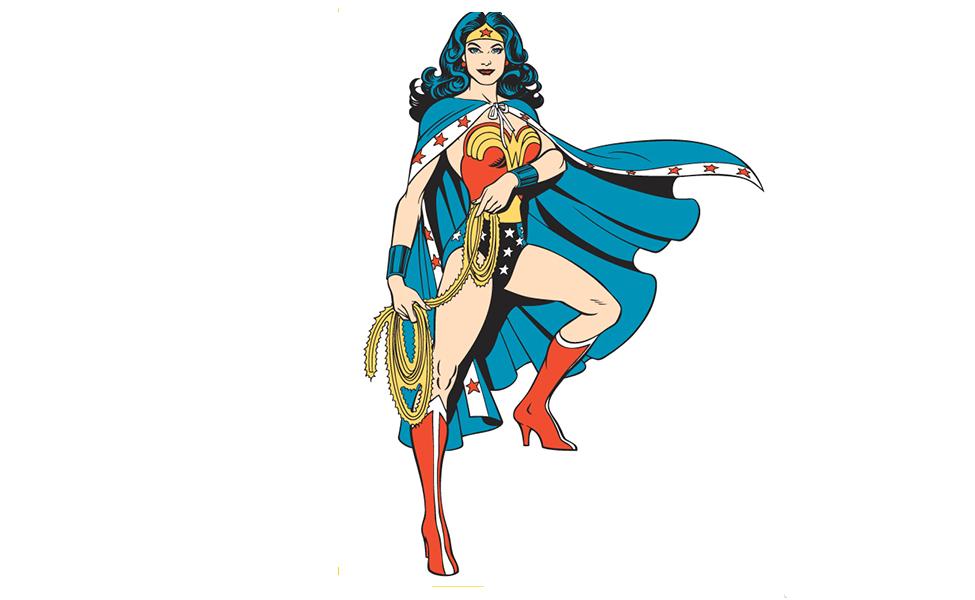 Stars and Stripes Wonder Woman