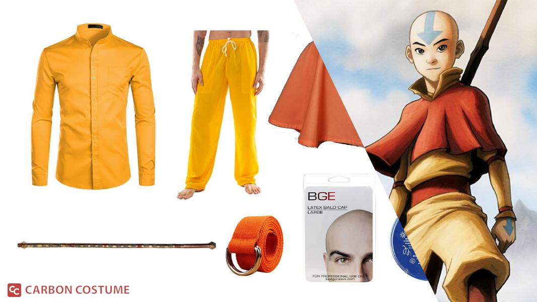 Aang from Avatar: The Last Airbender Cosplay Tutorial