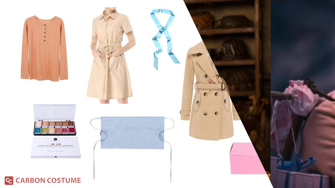 Agatha from The Grand Budapest Hotel Cosplay Tutorial