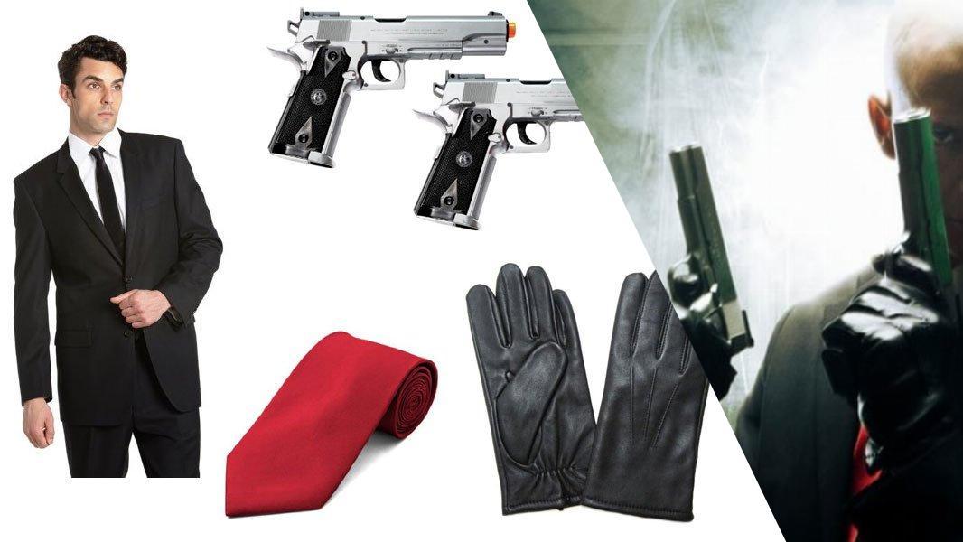Agent 47 Cosplay Tutorial