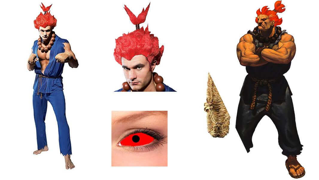 Akuma Cosplay Tutorial