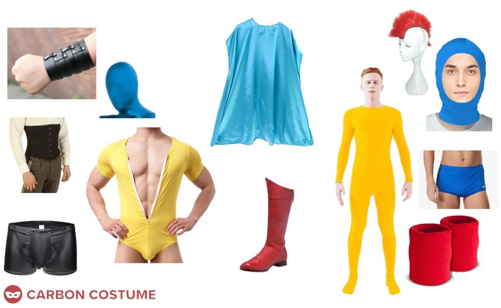 Albert Pratt / The Atom Costume