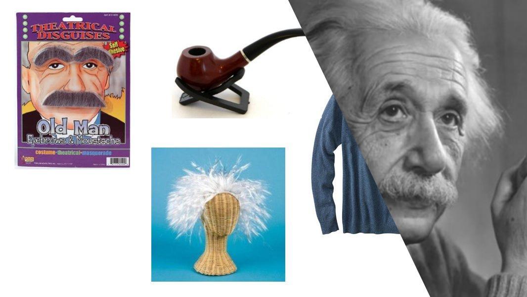 Albert Einstein Cosplay Tutorial