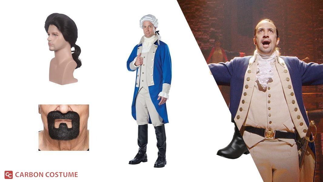 Alexander Hamilton from Hamilton Cosplay Tutorial