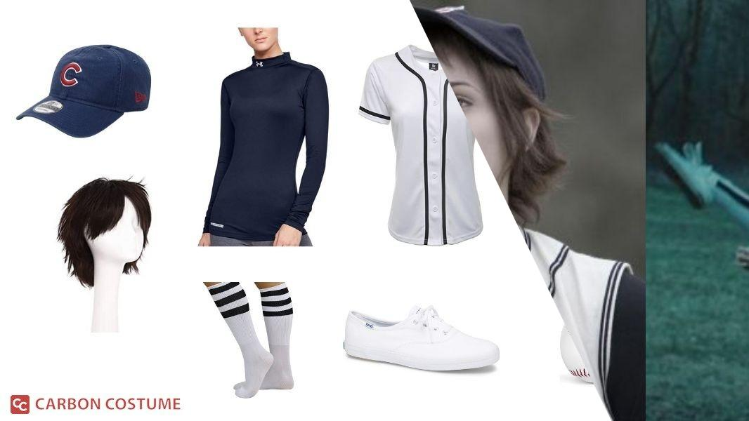 Alice Cullen in the Baseball Scene from Twilight Cosplay Tutorial