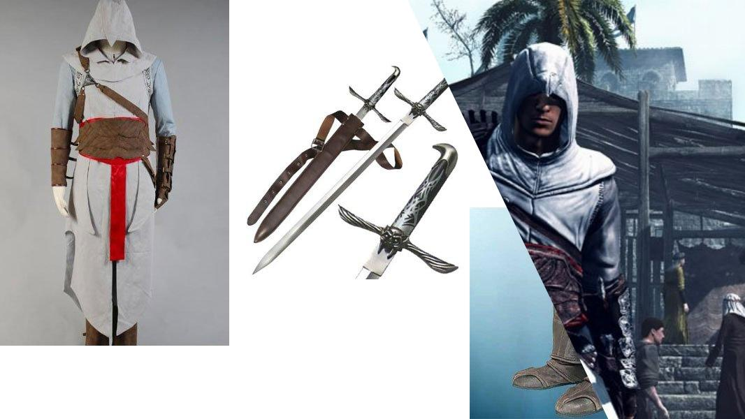 Altair from Assassin's Creed Cosplay Tutorial