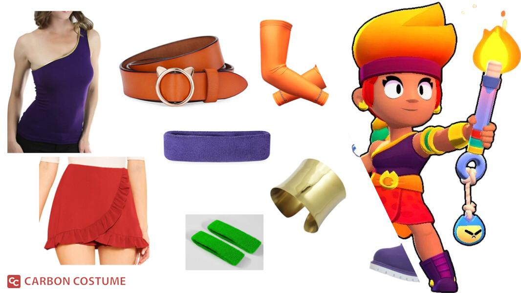 Amber from Brawl Stars Cosplay Tutorial