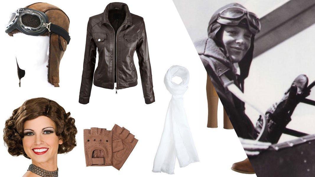 Amelia Earhart Cosplay Tutorial