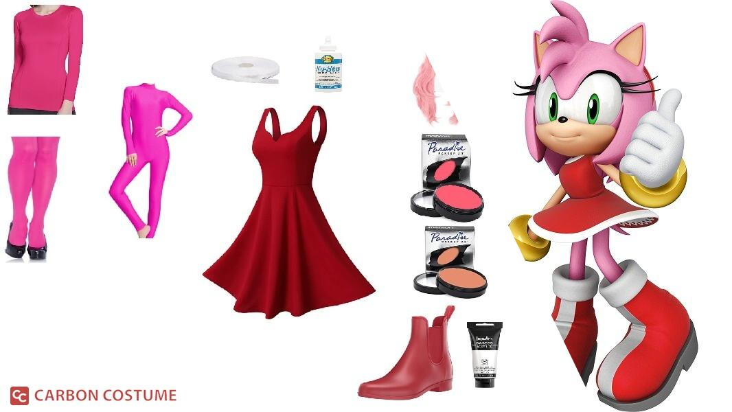 Amy Rose from Sonic the Hedgehog Cosplay Tutorial