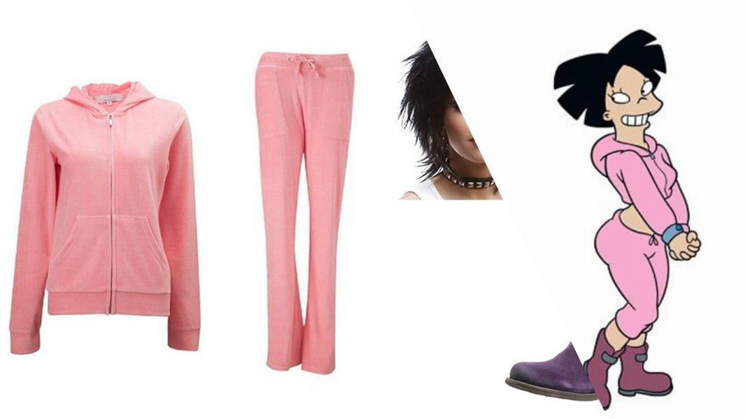 Amy Wong Cosplay Tutorial