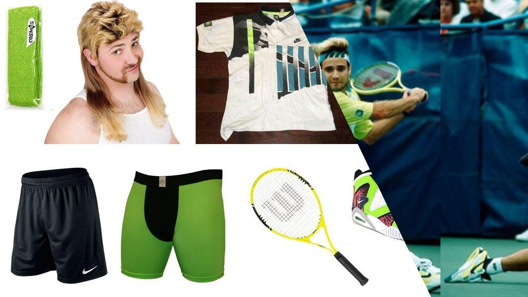 Andre Agassi Cosplay Tutorial