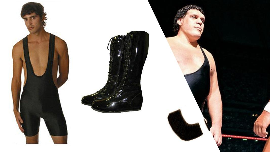 Andre the Giant Cosplay Tutorial