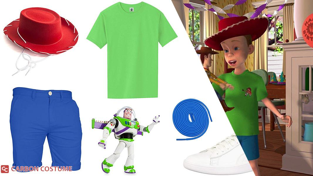 Andy from Toy Story Cosplay Tutorial