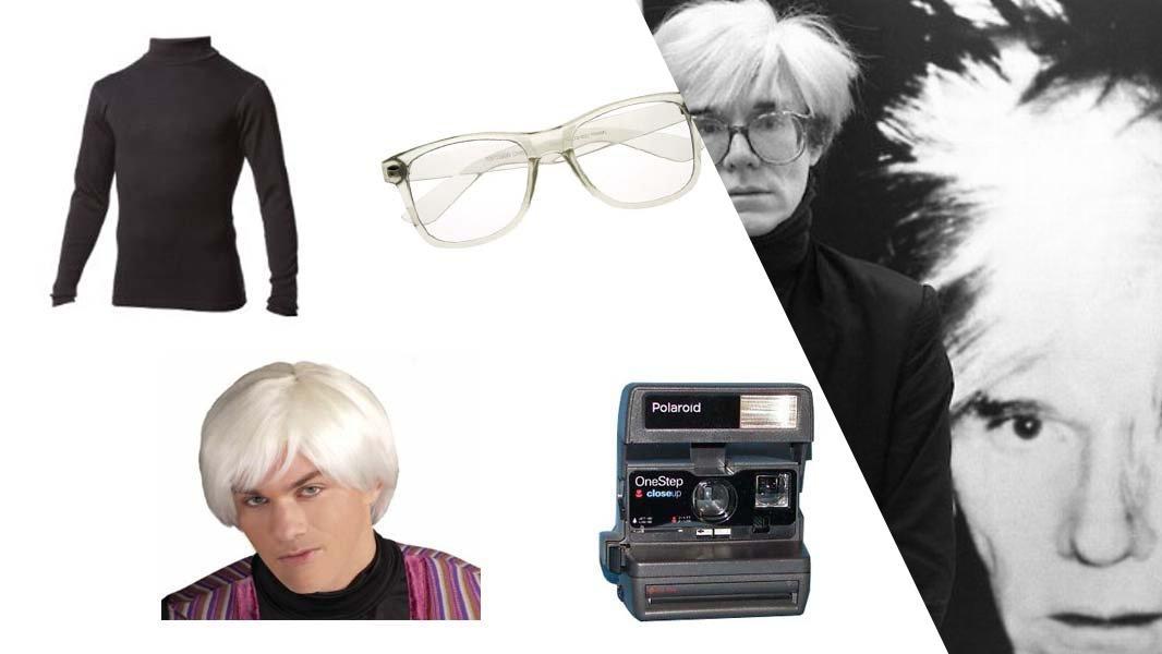 Andy Warhol Cosplay Tutorial