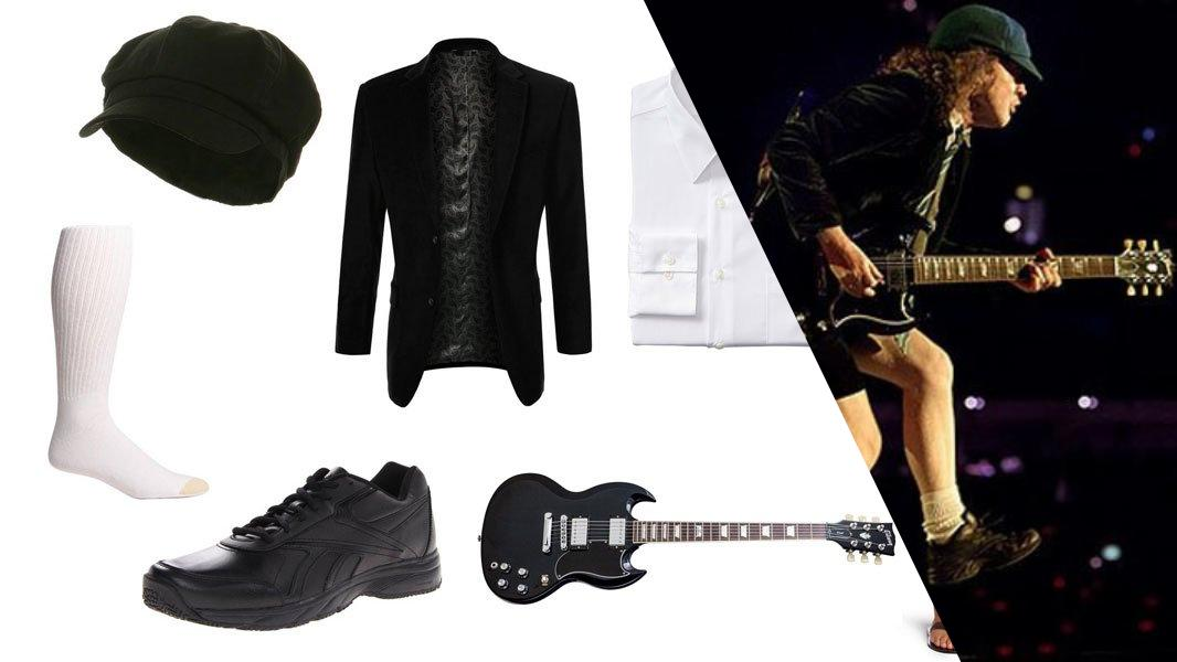 Angus Young Cosplay Tutorial