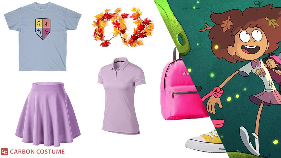 Anne Boonchuy from Amphibia Cosplay Tutorial