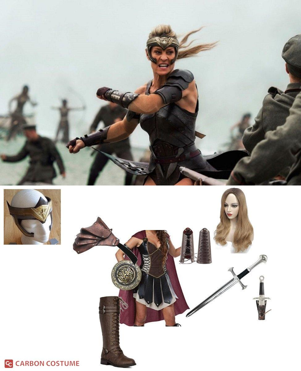 Antiope from Wonder Woman Cosplay Guide