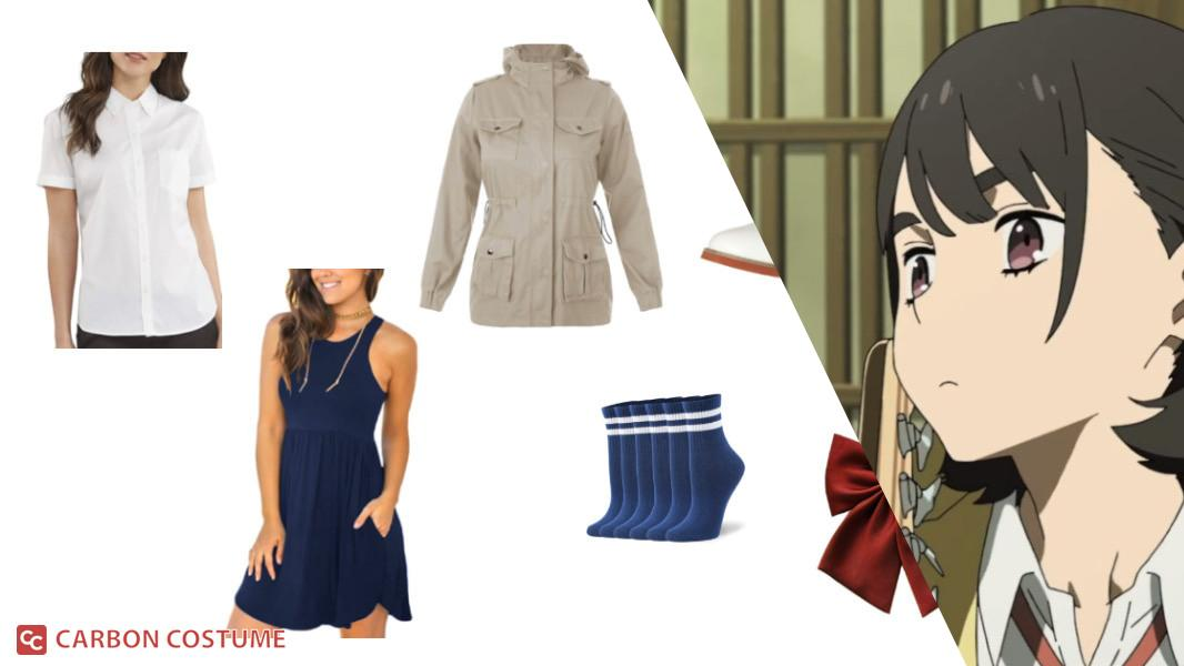 Aoi from Her Blue Sky Cosplay Tutorial