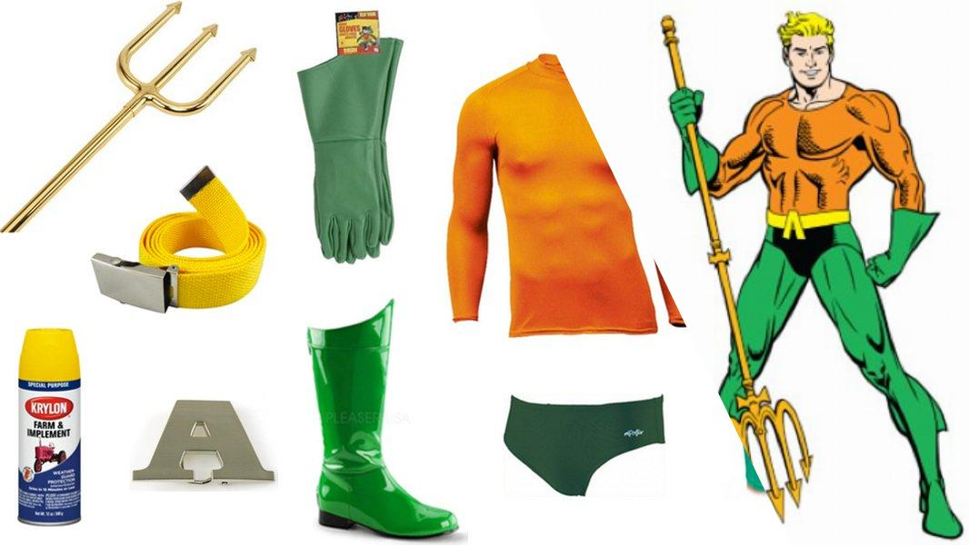 Aquaman Cosplay Tutorial